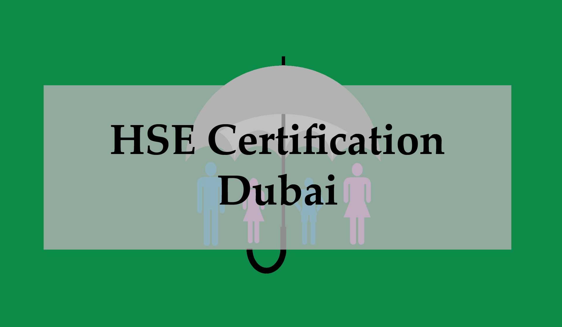 HSE_Certification_Dubai