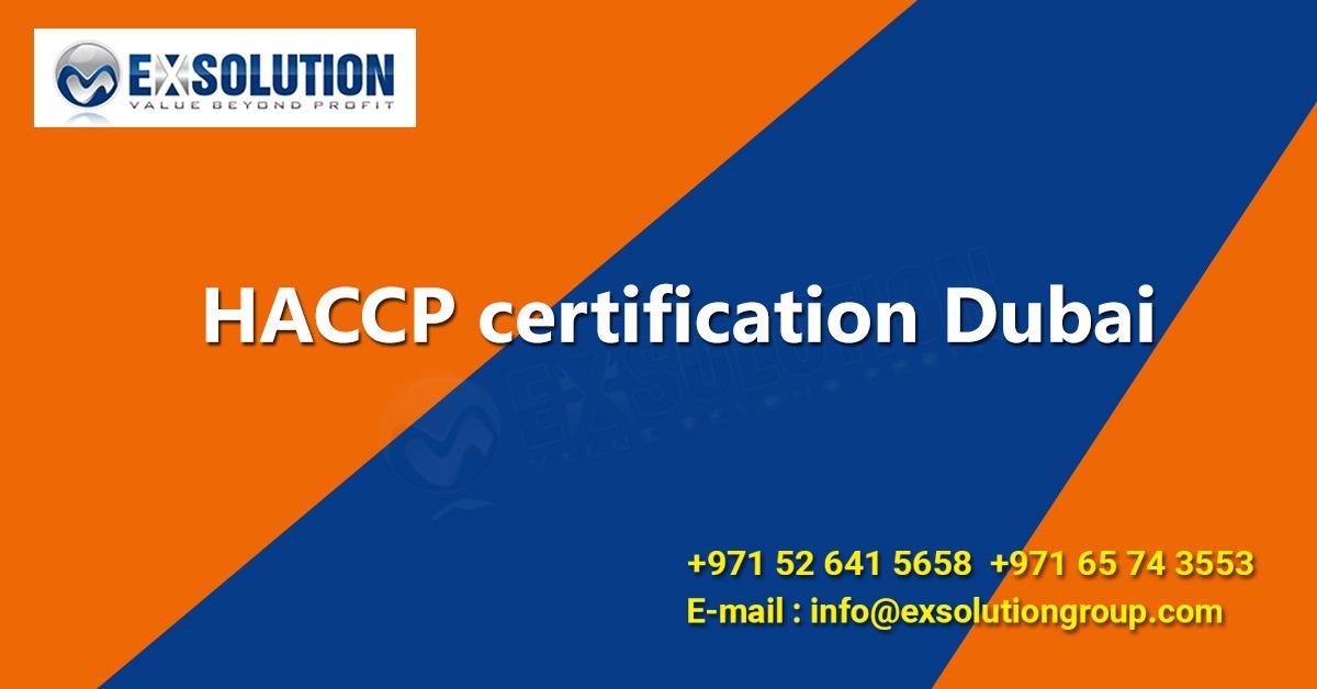 HACCP Certification Dubai