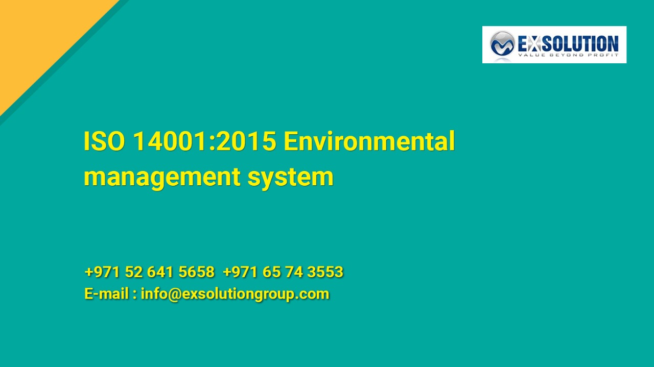 ISO 14001_2015 Environmental management system