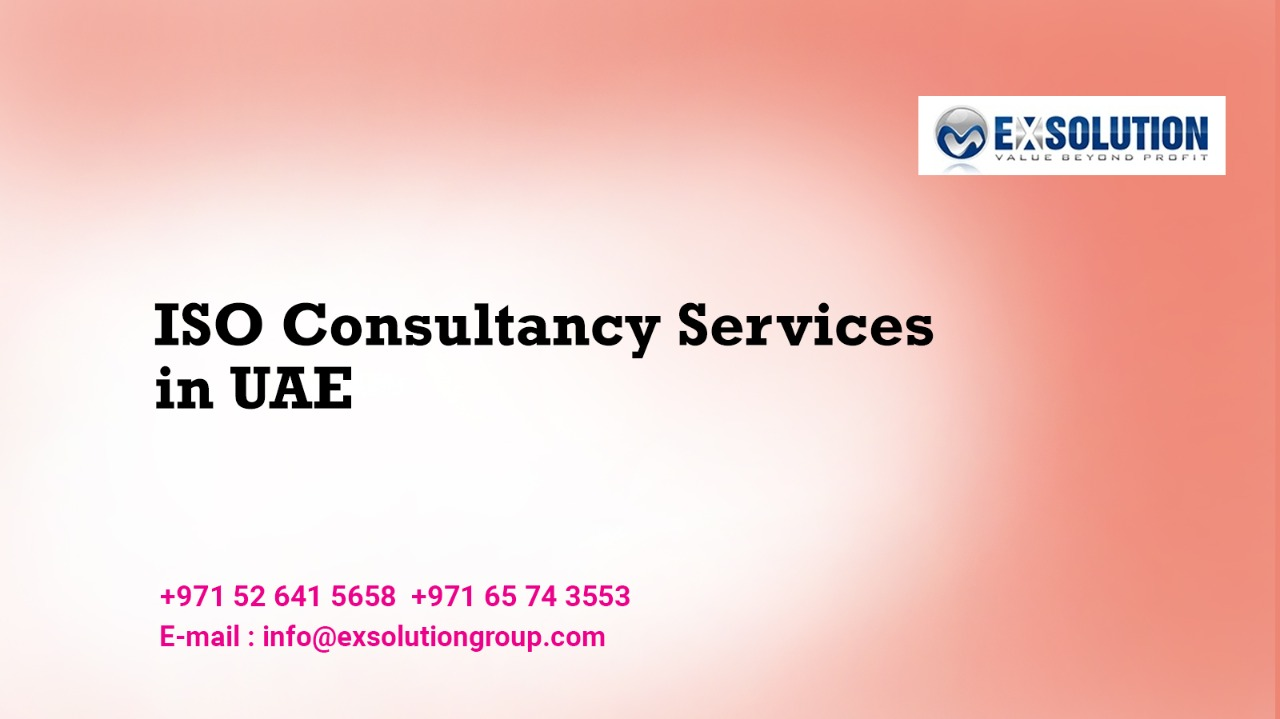 ISO Consultancy Services in UAE