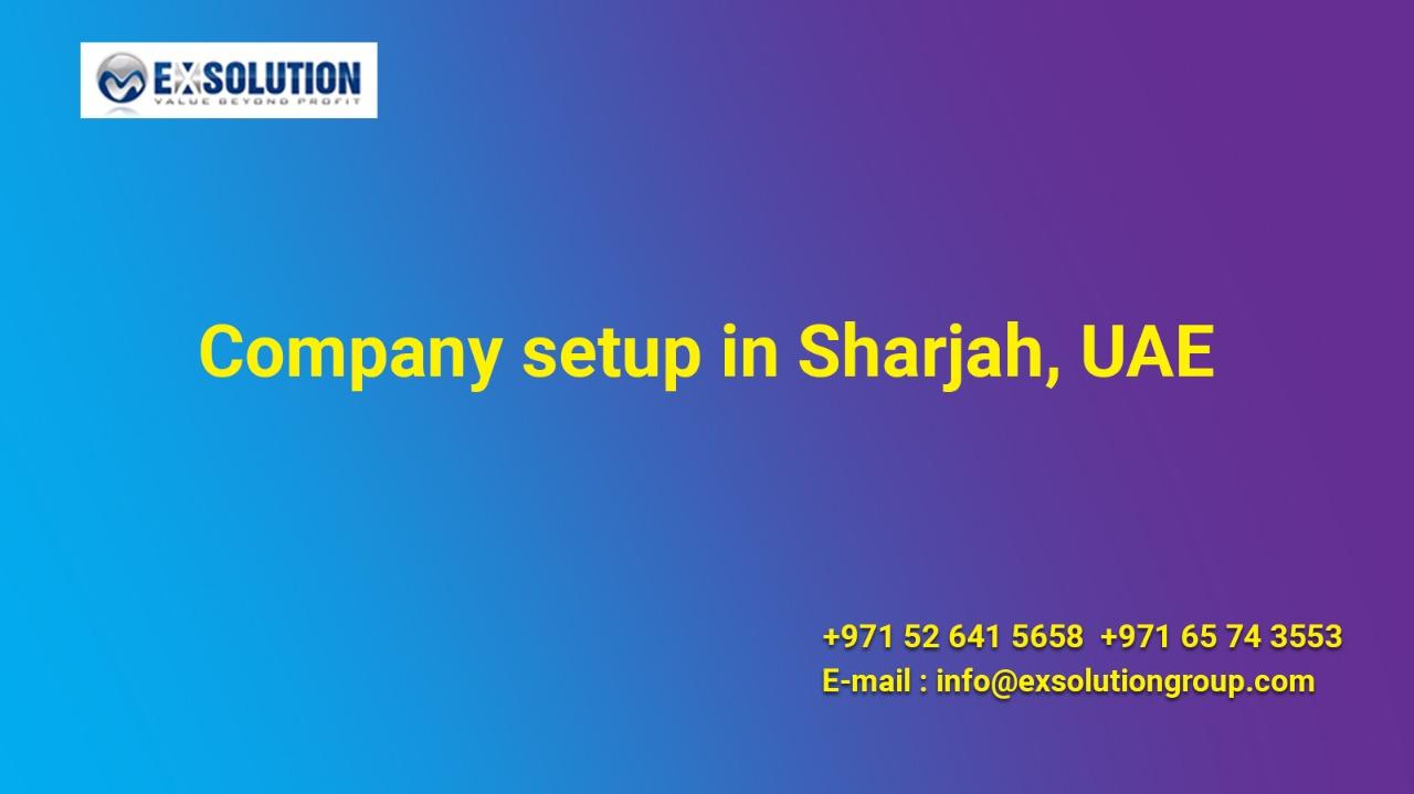 Company setup in Sharjah, UAE