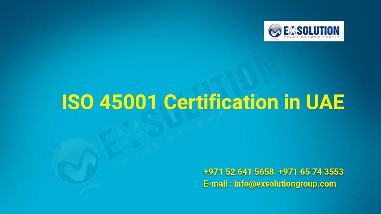 ISO 45001 Certification in UAE