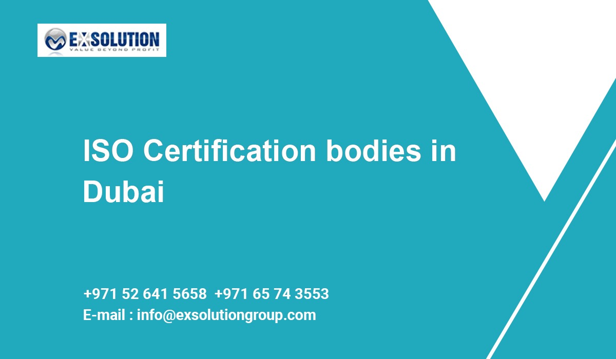 ISO Certification bodies in Dubai