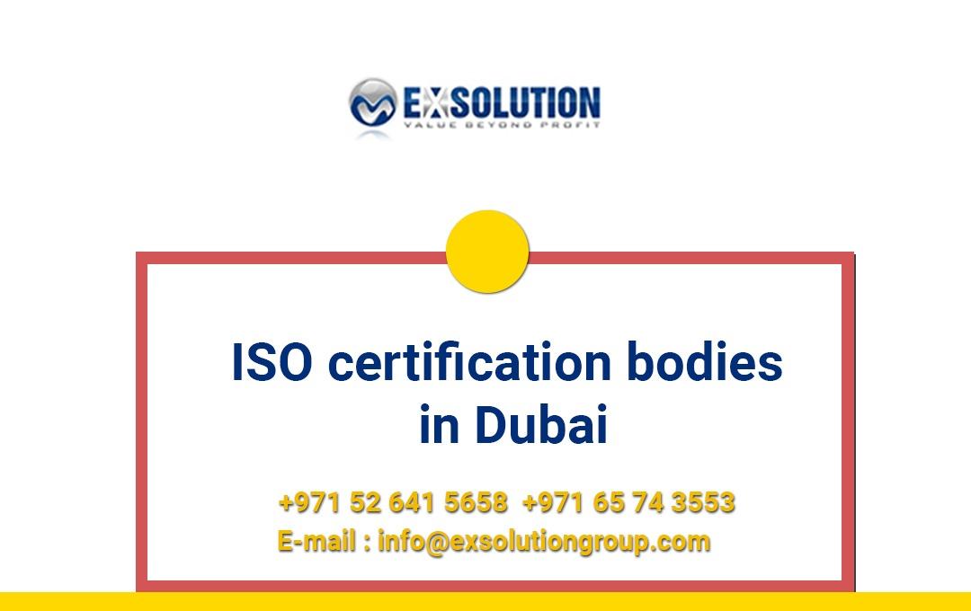 ISO Certification Bodies in Dubai