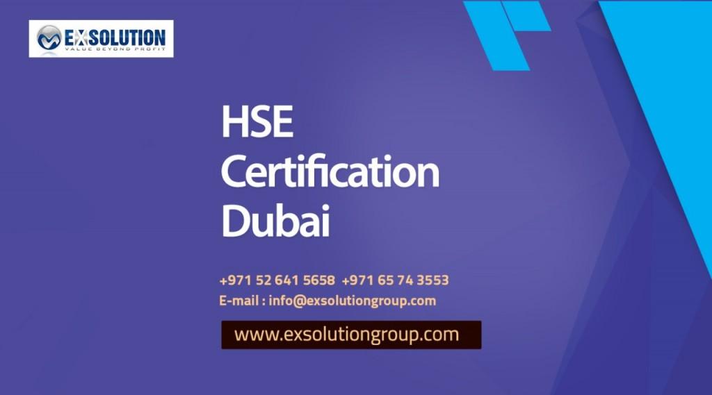 HSE Certification Dubai