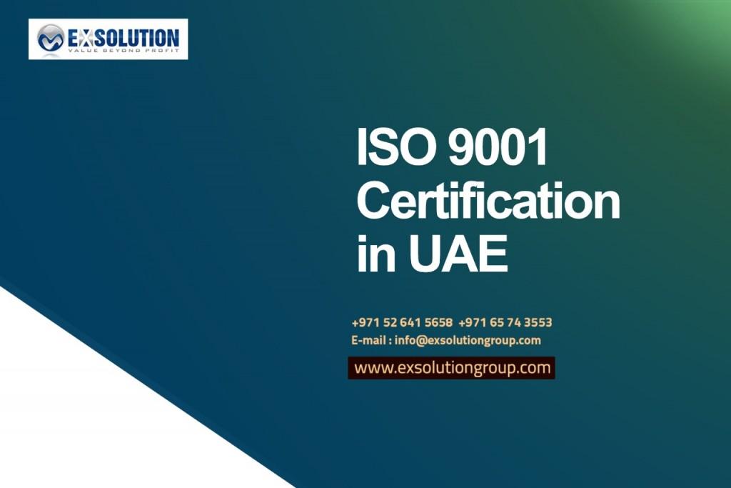 ISO 9001 Certification in UAE_July